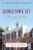 Cover image for A walking tour of the Georgetown set