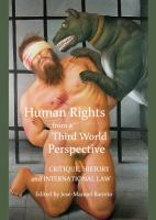 Cover image for Human rights from a Third World perspective