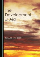 Cover image for Development of aid