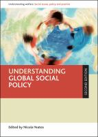 Cover image for Understanding global social policy