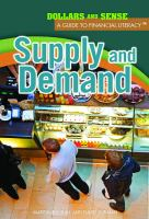 Cover image for Supply and demand