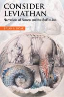 Cover image for Consider leviathan narratives of nature and the self in Job