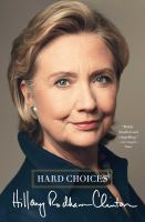 Cover image for Hard choices