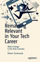 Cover image for Remaining Relevant in Your Tech Career When Change Is the Only Constant