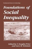Cover image for Foundations of Social Inequality