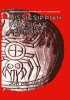 Cover image for Mississippian Political Economy