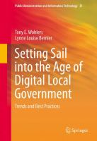 Cover image for Setting Sail into the Age of Digital Local Government Trends and Best Practices