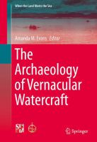 Cover image for The Archaeology of Vernacular Watercraft