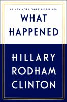 Cover image for What happened