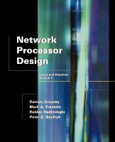 Cover image for Network processor design issues and practices