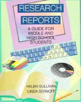 Cover image for Research reports : a guide for middle and high school students