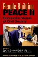 Cover image for People building peace II : successful stories of civil society