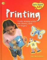Cover image for Printing