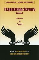 Cover image for Translating slavery