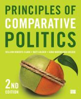 Cover image for Principles of comparative politics