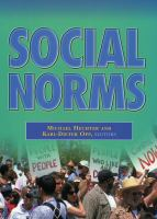 Cover image for Social Norms