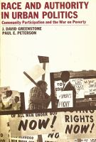 Cover image for Race and Authority in Urban Politics