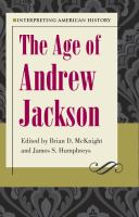Cover image for Interpreting American history. The age of Andrew Jackson