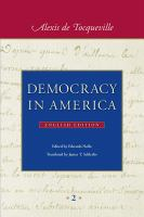Cover image for Democracy in America