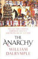 Cover image for The anarchy : the relentless rise of the East India Company