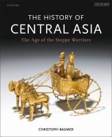 Cover image for The history of Central Asia