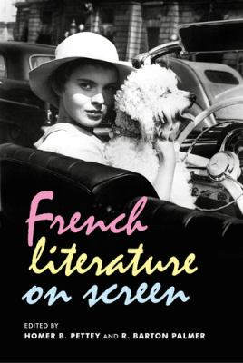 Cover image for French literature on screen