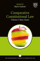 Cover image for Comparative constitutional law