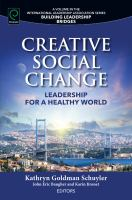 Cover image for Creative social change