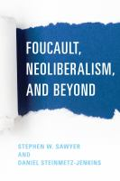 Cover image for Foucault, neoliberalism, and beyond