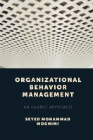Cover image for Organizational behavior management : an Islamic approach