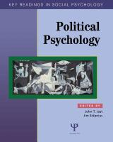 Cover image for Political psychology : key readings