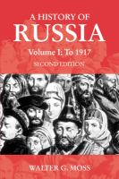 Cover image for A history of Russia