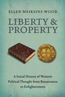 Cover image for Liberty and property : a social history of Western political thought from Renaissance to Enlightenment