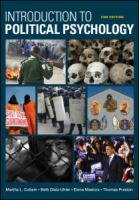 Cover image for Introduction to political psychology