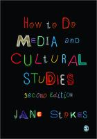 Cover image for How to do media and cultural studies