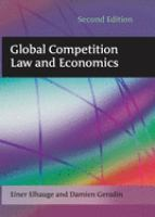 Cover image for Global competition law and economics