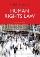 Cover image for Human rights law