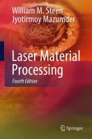 Cover image for Laser Material Processing