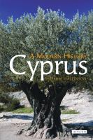 Cover image for Cyprus : a modern history