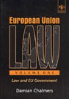 Cover image for European Union law.