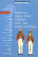 Cover image for Mapping subaltern studies and the postcolonial
