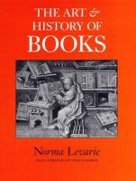 Cover image for The art & history of books