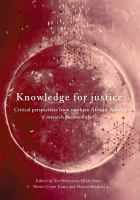 Cover image for Knowledge for Justice Critical Perspectives from Southern African-Nordic Research Partnerships