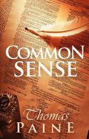 Cover image for Common sense