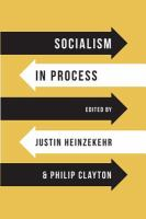Cover image for Socialism in process