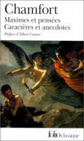 Cover image for Maximes et pensées, caractères et anecdotes : produits de la civilisation perfectionnée