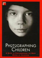 Cover image for Photographing children.