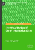 Cover image for The Urbanization of Green Internationalism