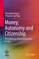 Cover image for Money, Autonomy and Citizenship The Experience of the Brazilian Bolsa Família