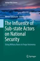 Cover image for The Influence of Sub-state Actors on National Security Using Military Bases to Forge Autonomy